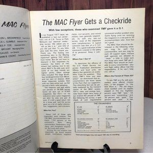 Vintage Accents - Rare Vntg 1978 The Mac Flyer Magazine